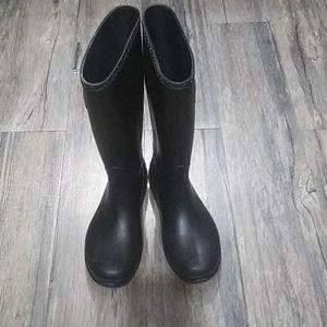 Kamik Rain Boots size 6 black
